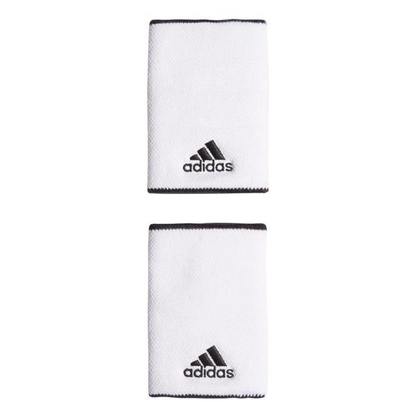adidas Wrist Bands Large, WHITE/BLACK