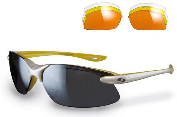 Sunwise Windrush WHITE/YELLOW Sunglasses