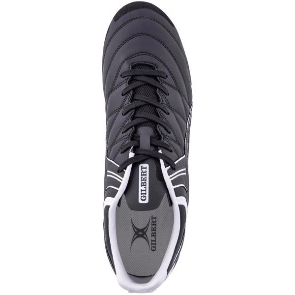 Gilbert Sidestep X9 Rugby Boots BLACK/WH