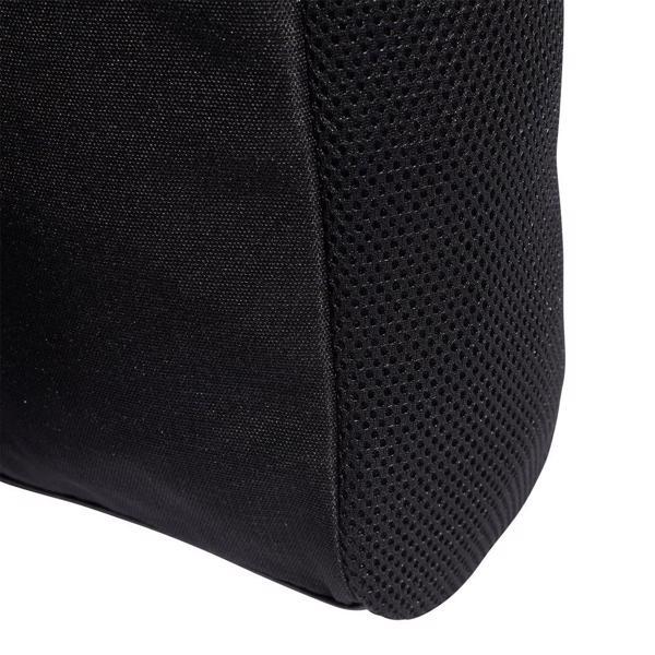 adidas 3 Stripe Shoe Bag, BLACK