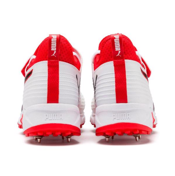 Puma Cricket 19.1 Bowling Boot WHITE/RED