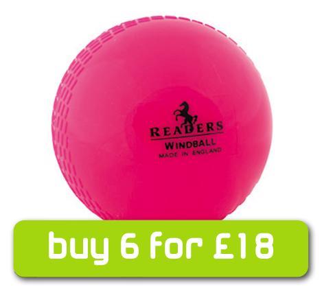 Readers Windball Cricket Ball - PINK