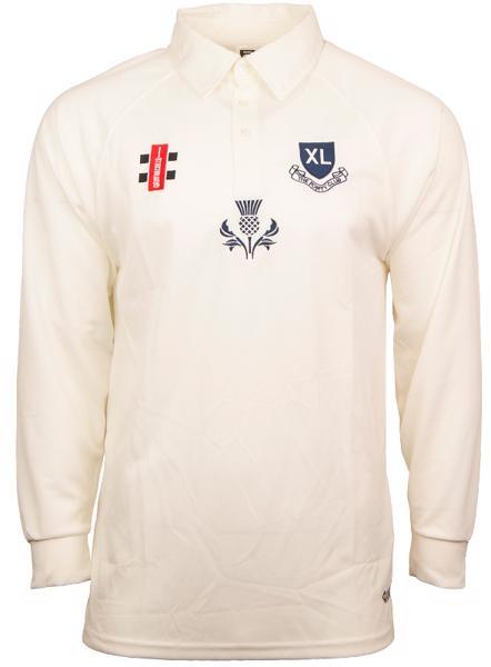 XL CLUB SCOTLAND GN Matrix L/S Cricket