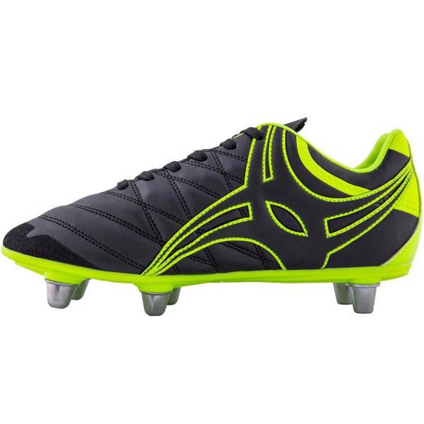 Gilbert Sidestep X9 Rugby Boots BLACK/NE