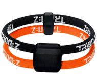 Trion:Z Dual Loop Bracelet BLACK/ORANGE