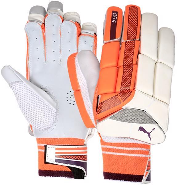 Puma EVO 4 ORANGE Batting Gloves