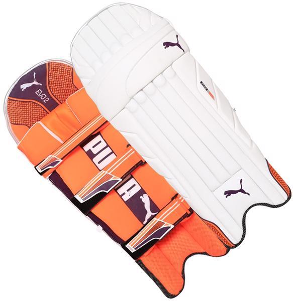 Puma EVO 2 ORANGE Batting Pads