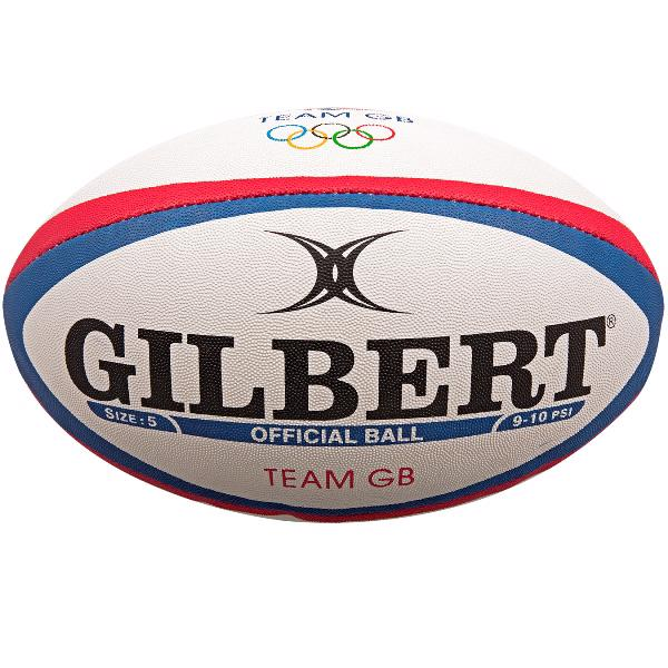 Gilbert TEAM GB Official Replica Rugby%2