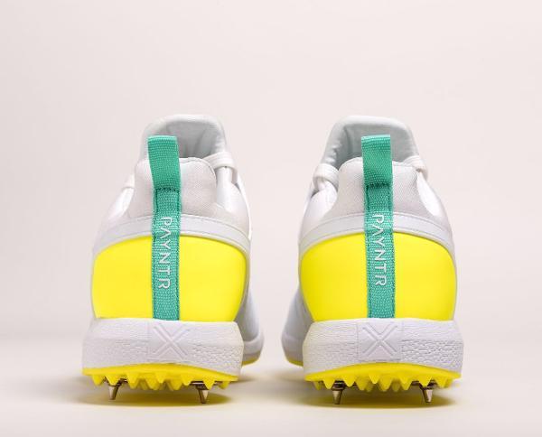 Payntr X MK3 Spike Cricket Shoes YELLO