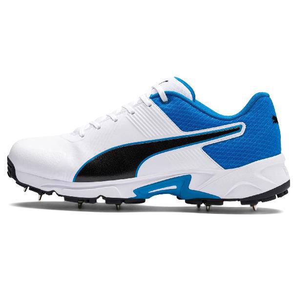 Puma 19.2 Cricket Spike Shoe WHITE/AZURE