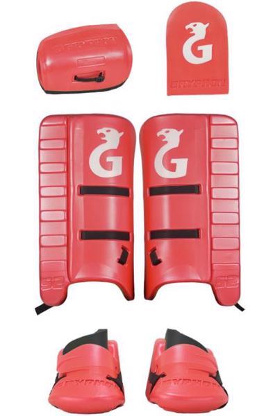 Gryphon S2 Hockey GK Set RED