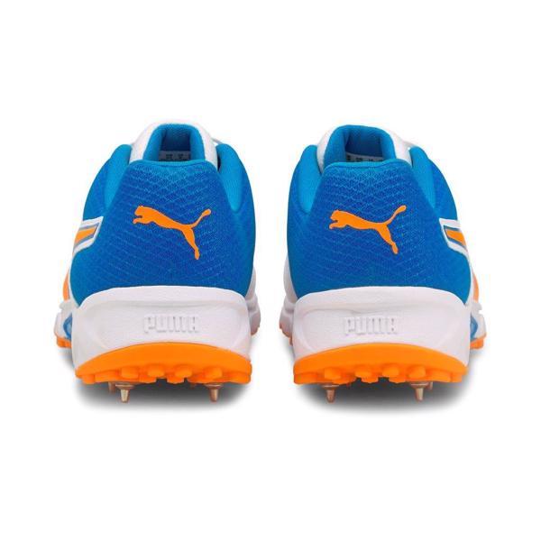 Puma 19.2 Cricket Spike Shoe BLUE/ORANGE
