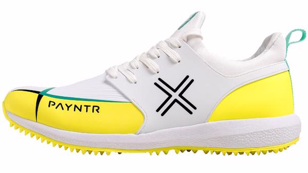 Payntr Evo Pimple Cricket Shoes YELLOW%2