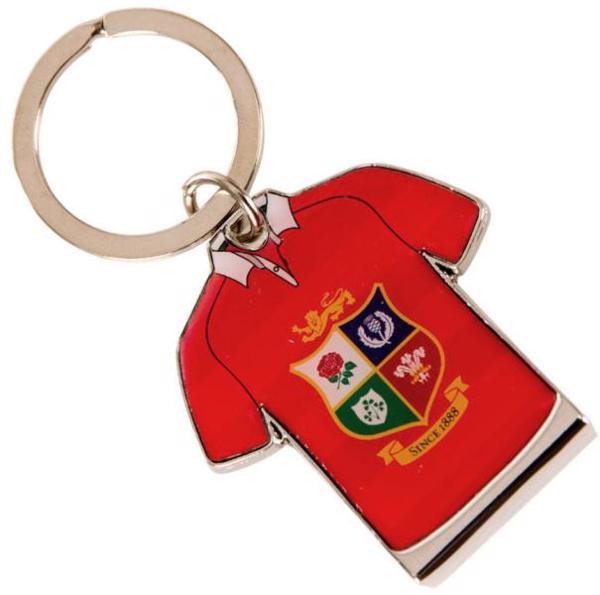 Lions Rugby Jersey Bottle Opener Keyring