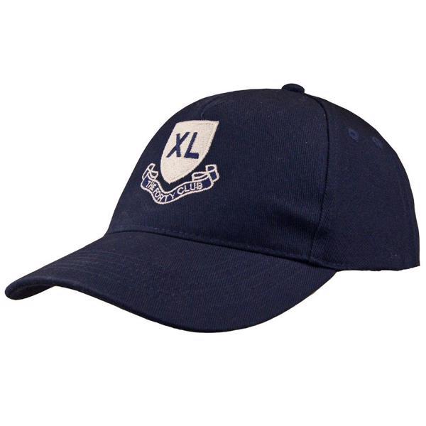 XL CLUB Shield Logo Baseball Style Cap