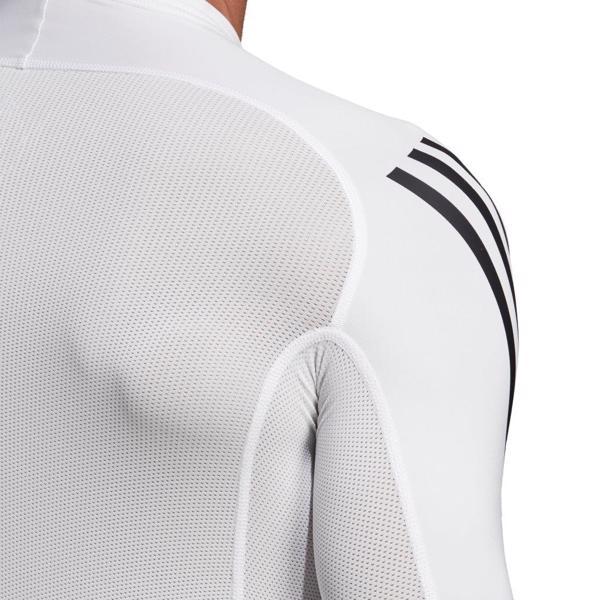 adidas Alphaskin Sport  3-Stripes LS Tee