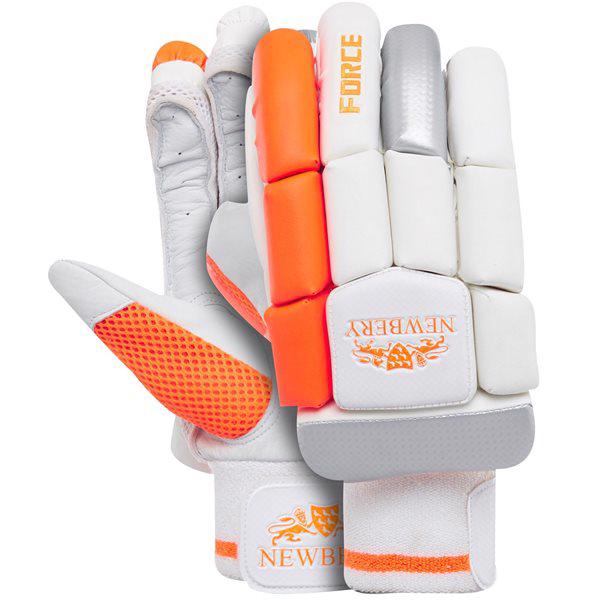 Newbery Force Cricket Batting Gloves JUN
