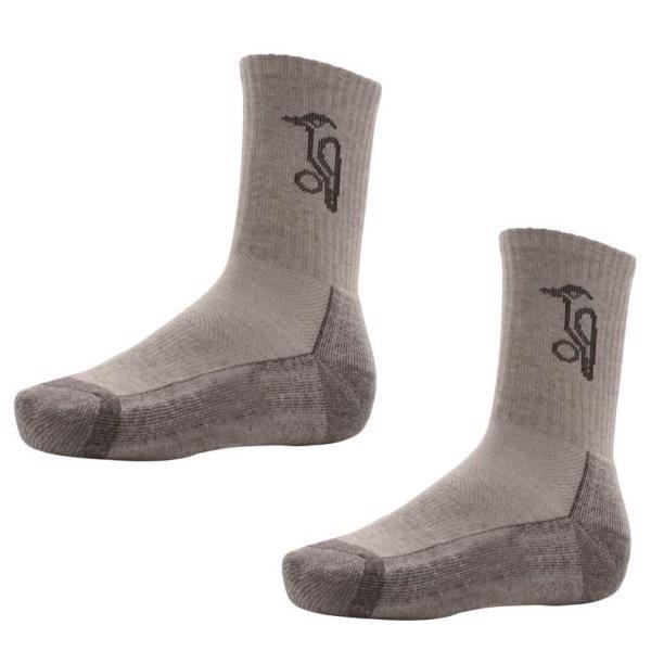 Kookaburra Cricket Socks, GREY