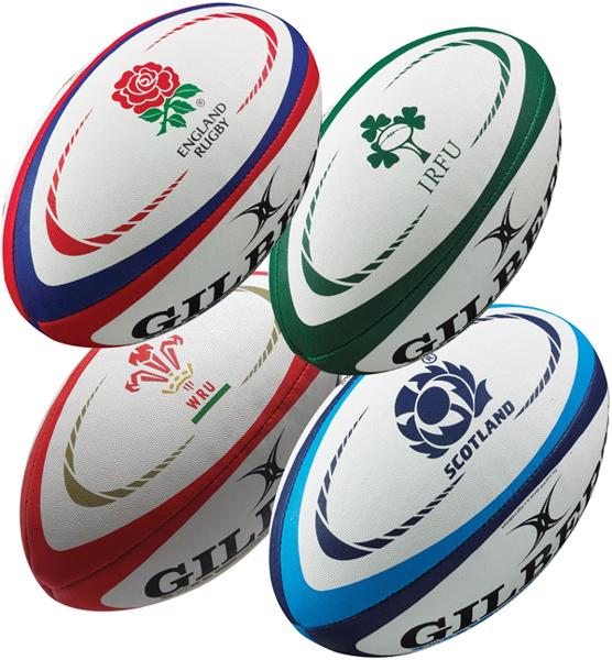Gilbert International Replica Rugby Ball