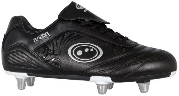 Optimum Razor Rugby Boots JUNIOR BLACK/S
