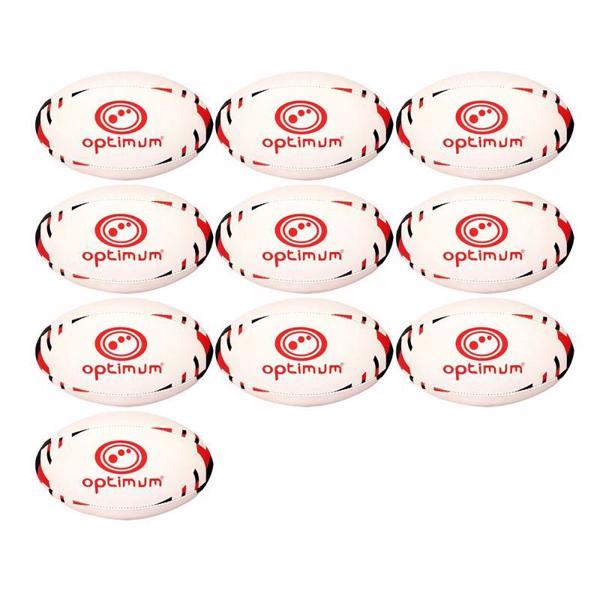 Optimum Classico Rugby Ball Pack of TE