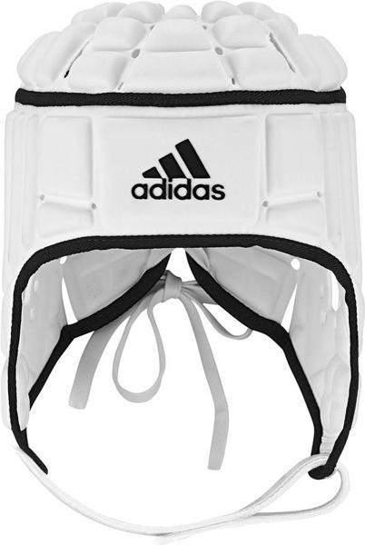 adidas Rugby Headguard, WHITE