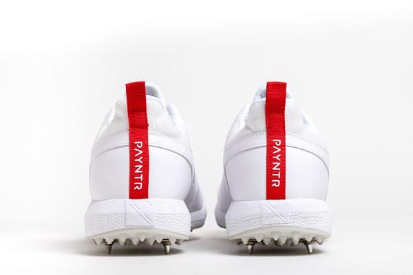 Payntr V Spike Cricket Shoes JUNIOR WH