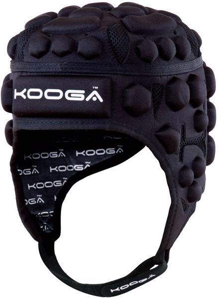Kooga Essentials Rugby Headguard BLACK