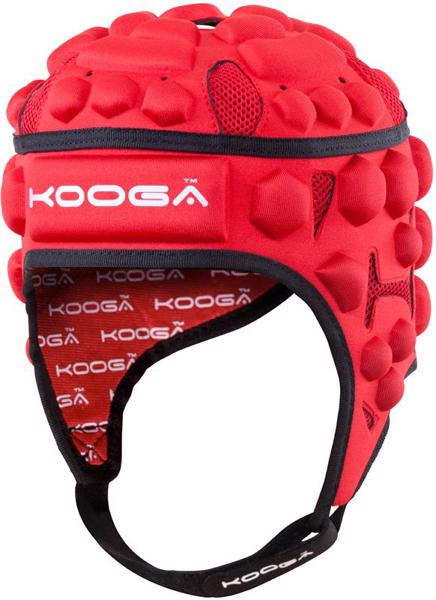 Kooga Essentials Rugby Headguard RED JUN