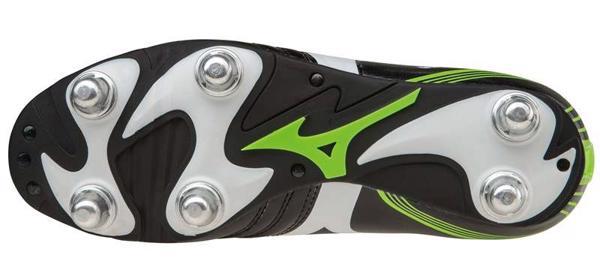 Mizuno Waitangi Rugby Boots BLACK/GREEN,