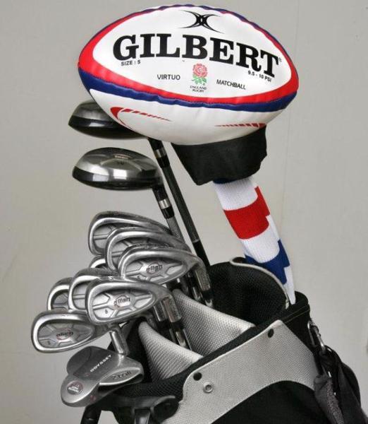 Gilbert England Rugby Ball Golf Club H