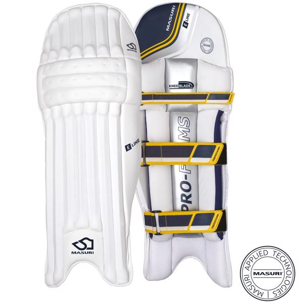 Masuri E Line Cricket Batting Pads JUN