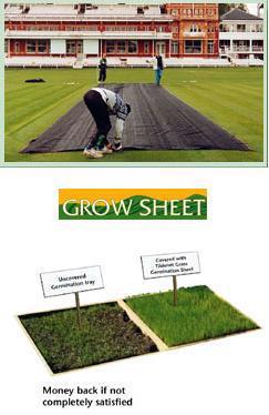 Grass germination sheet,23 metres.