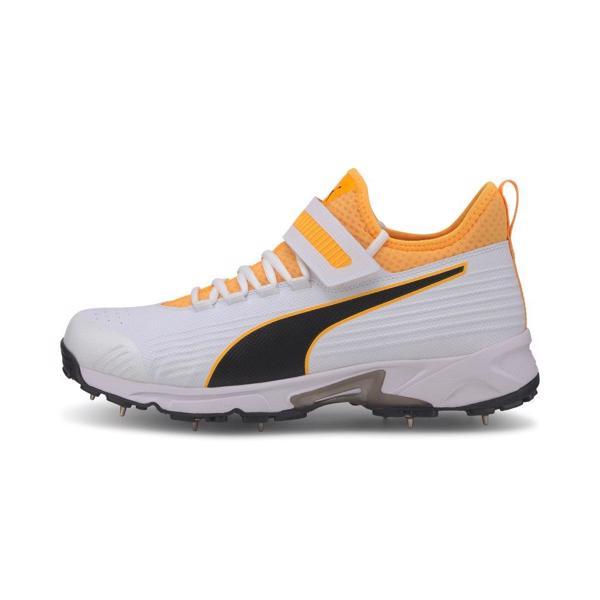 Puma 19.1 Cricket Bowling Shoe WHITE/ORA