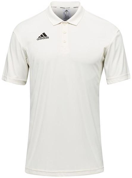 adidas Howzat Short Sleeve Cricket Polo