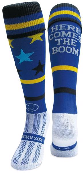 Wacky Sox Here Comes The Boom, BLUE