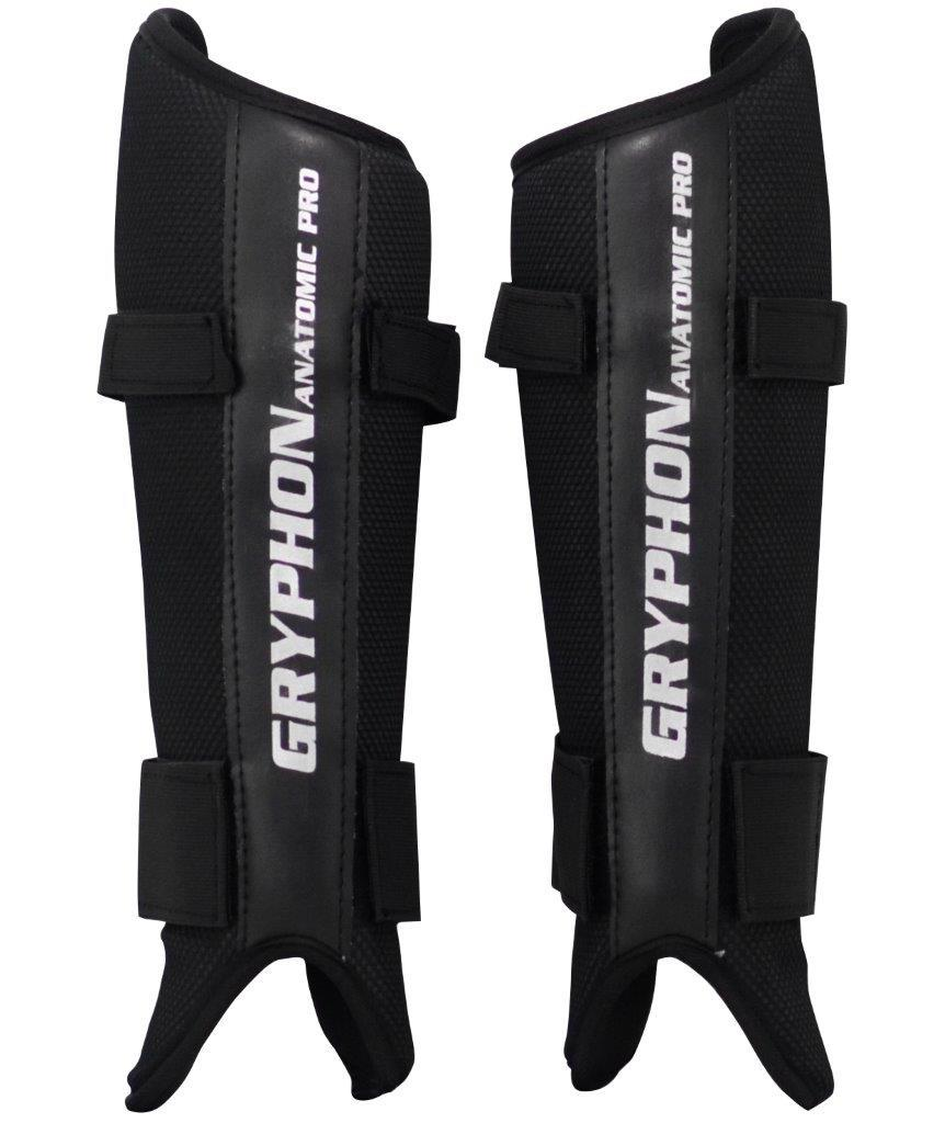 Gryphon Anatomic Pro G4 Hockey Shin Guards BLACK