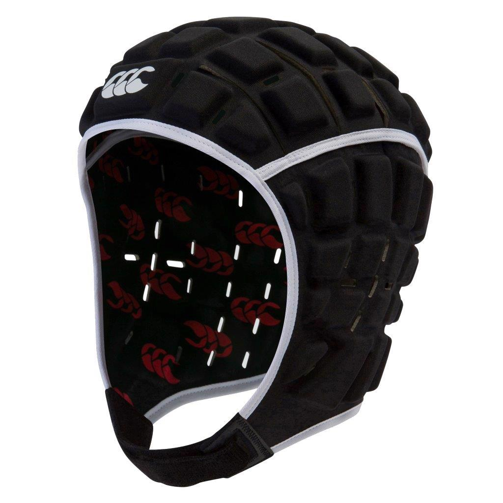 Canterbury Reinforcer Rugby Headguard BLACK