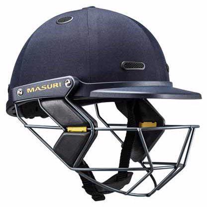 Masuri Vision Series TEST Cricket Helmet STEEL GRILLE JUNIOR