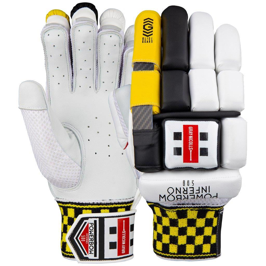 Gray Nicolls Powerbow Inferno 500 Batting Gloves JUNIOR