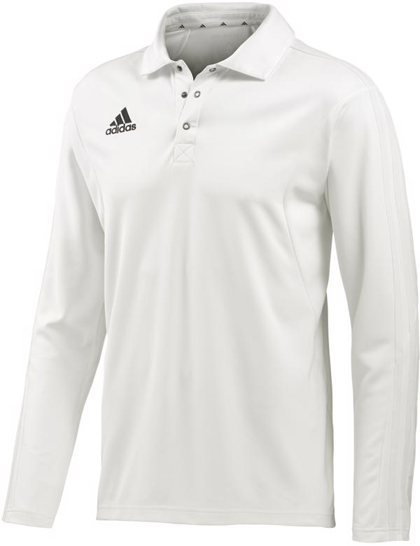 adidas Long Sleeve Cricket Shirt