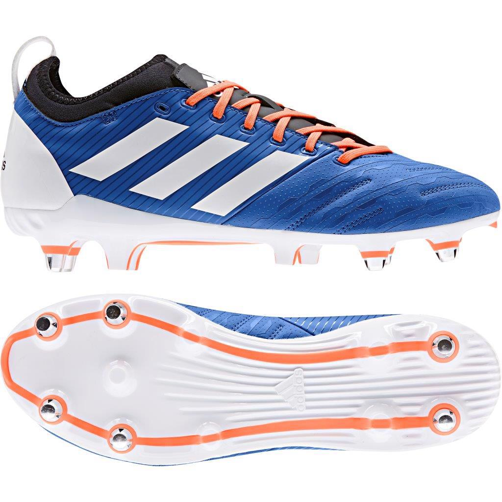 adidas MALICE ELITE SG Rugby Boots BLUE
