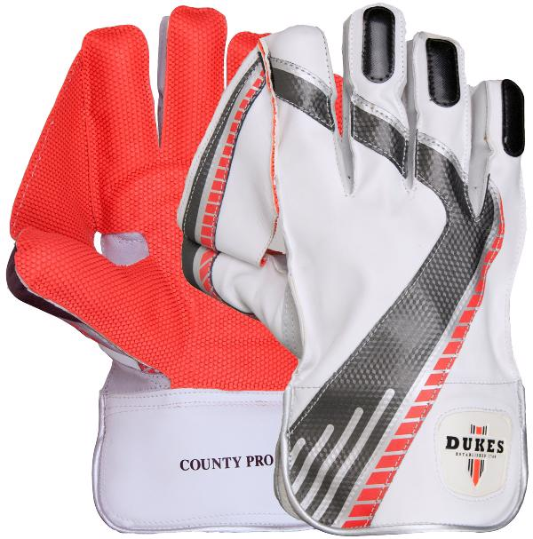 Dukes County Pro Cricket WK Gloves JUNIOR