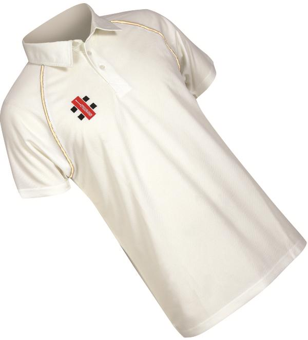 Gray Nicolls Matrix Short Sleeve Cricket Shirt JUNIOR