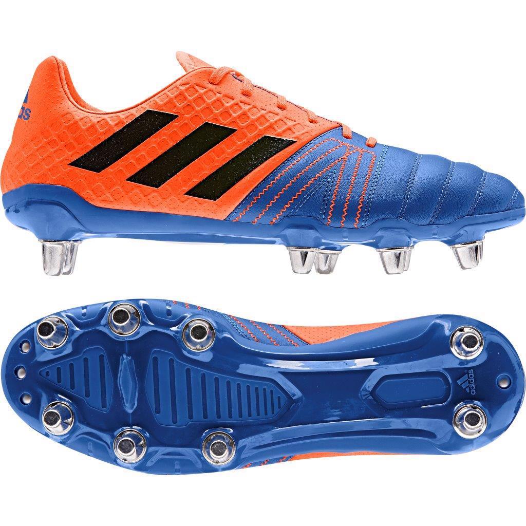 adidas KAKARI ELITE SG Rugby Boots BLUE/ORANGE