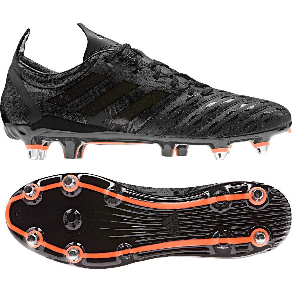 adidas MALICE SG Rugby Boots BLACK