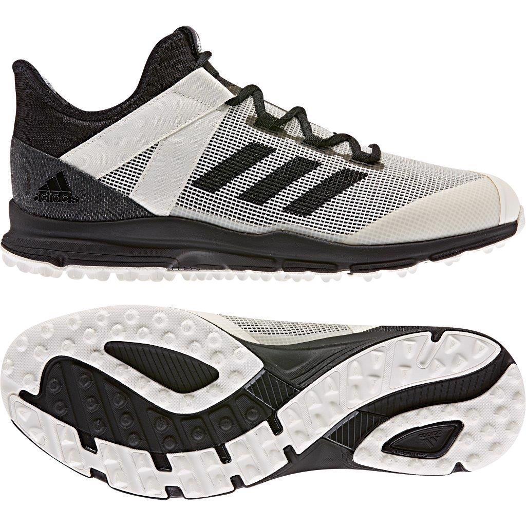 adidas Zone Dox Hockey Shoes WHITE/BLACK