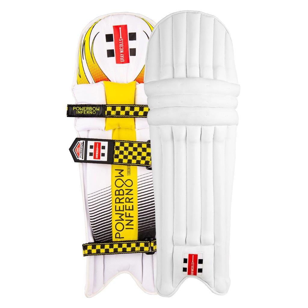 Gray Nicolls Powerbow Inferno THUNDER Batting Pads JUNIOR