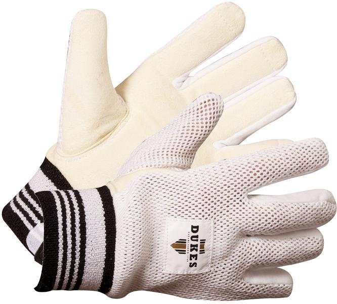 Dukes Chamois/Cotton Cricket Wicket Keeping Inner Gloves