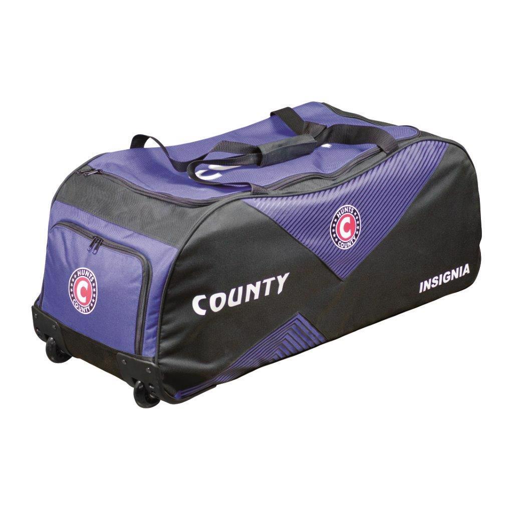 Hunts County Insignia Cricket Wheelie Bag